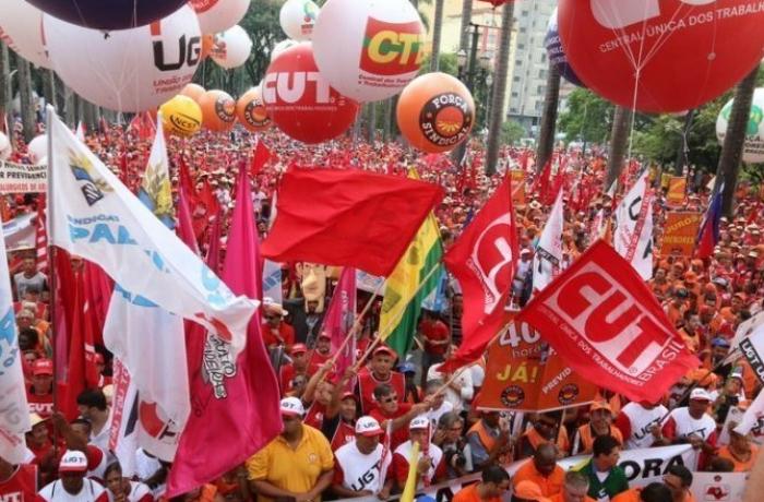 Imagem de Basta! Para mudar é preciso unir e mobilizar, dizem centrais sindicais