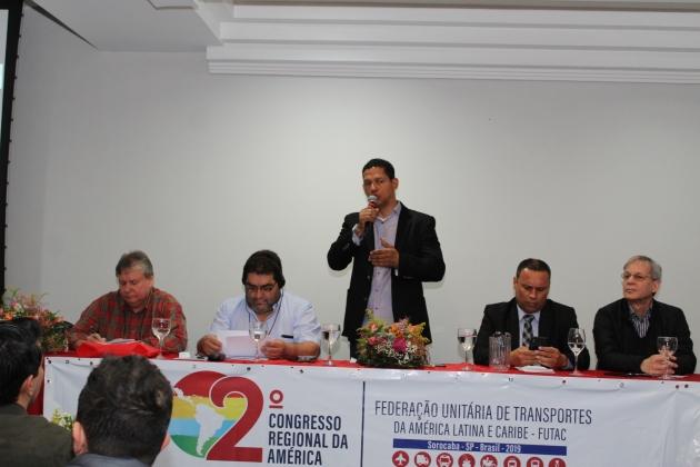 Imagem de #2ºCongressoFUTAC  Unidade e Solidariedade internacional é o caminho para barrar ataques dos governos da direita fascista no Brasil e América Latina