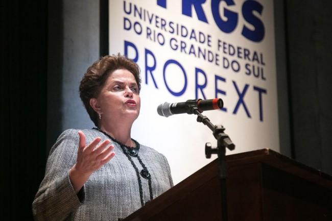 """Imagem de Dilma: """"O presente nós perdemos. Não podemos perder o futuro"""""""
