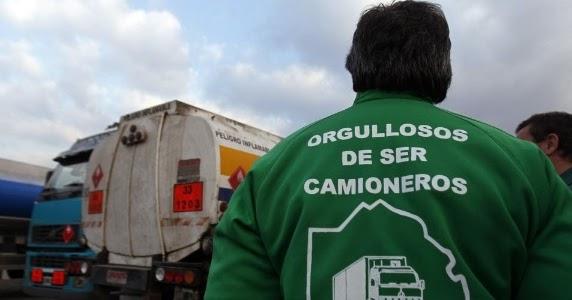 Imagem de Caminhoneiros argentinos cruzam os braços por melhor valor do frete