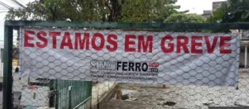 Imagem de Bahia: Após oferta de 0% de reajuste salarial, ferroviários cruzam os braços