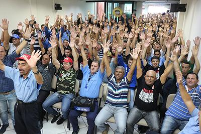 Imagem de Sorocaba: Trabalhadores em transporte urbano aprovam luta permanente por reivindicações não alcançadas