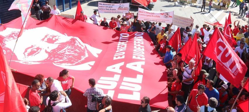 Imagem de SP: Por democracia e por Lula, movimentos vão às ruas nesta sexta (11)