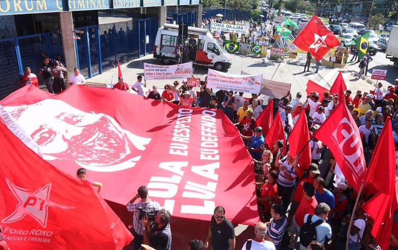 Imagem de #LulaValeaLula: Mobilizações em solidariedade a Lula ocorrem em várias capitais brasileiras