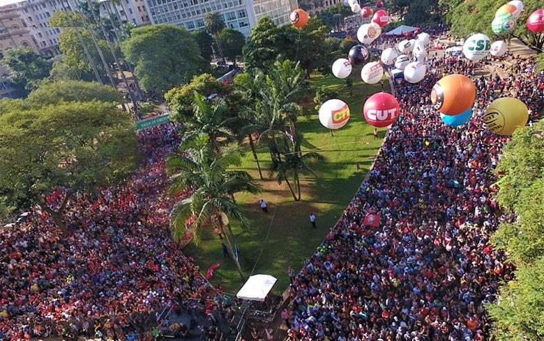 Imagem de 1º de Maio: Centrais defendem greve geral em 14 de junho e retirada de projeto da Reforma da Previdência