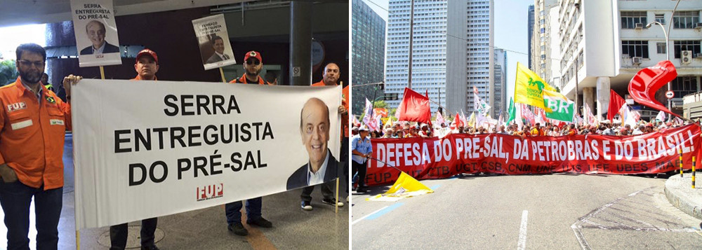 Imagem de Em nota, CUT e FUP repudiam privatização do pré-sal