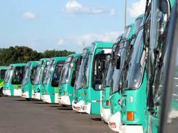 Imagem de Brasília: Rodoviários param após não receber salário