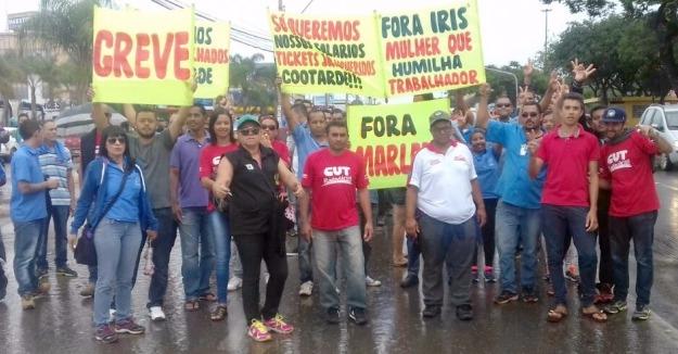 Imagem de Em apoio aos rodoviários na Cootarde, CUT Brasília lança moção