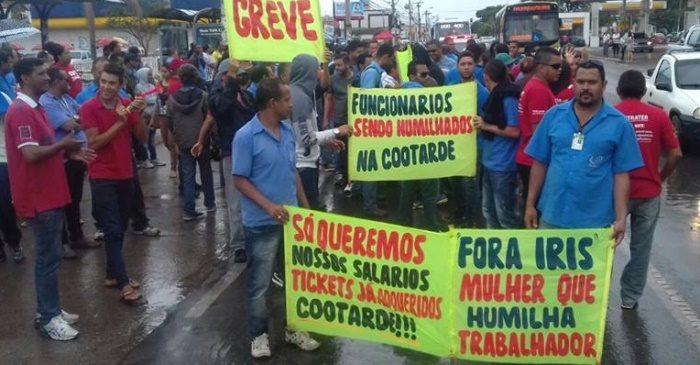 Imagem de Brasília: Rodoviários na Cootarde seguem firmes na greve