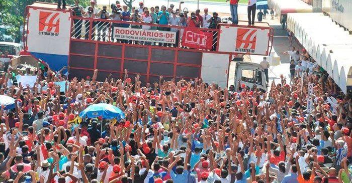 Imagem de Brasília: Rodoviários realizam assembleia da Campanha Salarial no domingo (2)