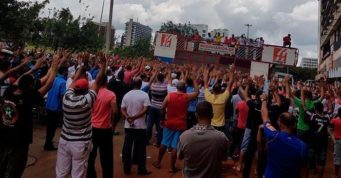 Imagem de Brasília: Rodoviários aprovam pauta de reivindicações da Campanha Salarial 2017