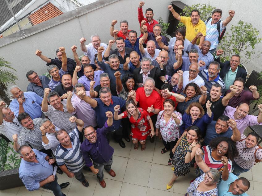 Imagem de CNTTL participa de encontro de sindicalistas com Lula