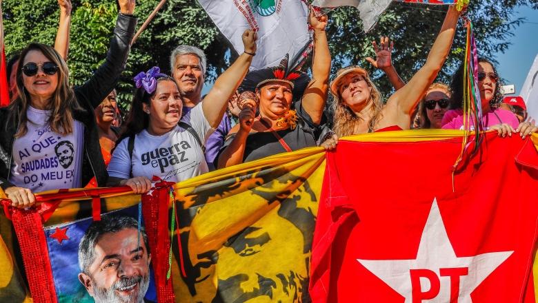Imagem de #NósSomosLula Confira nota oficial do Acampamento Lula Livre
