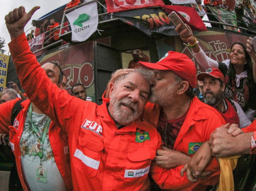 Imagem de RJ: Lula sai em defesa da soberania nacional
