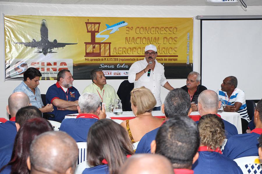 Imagem de Pernambuco: Sina promove  3º Congresso Nacional dos Aeroportuários
