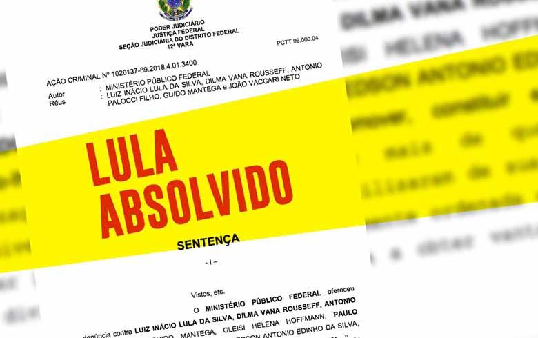Imagem de Lula, Dilma e ex-ministros são absolvidos no caso que ficou conhecido como 'quadrilhão'