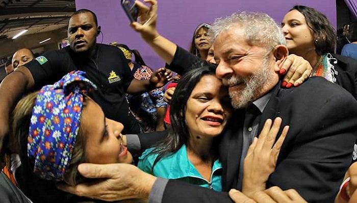 """Imagem de Lula parabeniza luta das """"margaridas"""" e rechaça ameaças à democracia"""