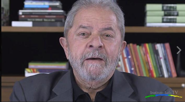 """Imagem de Lula: """"É o momento de mostrar que podemos barrar o retrocesso"""""""
