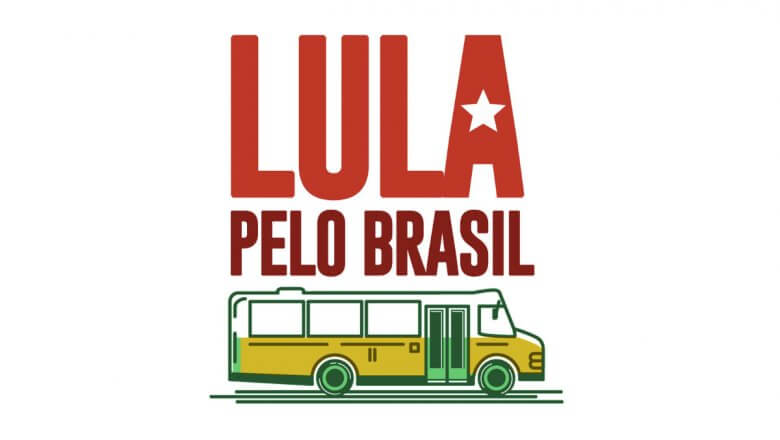 Imagem de Lula faz caravana pelo Brasil