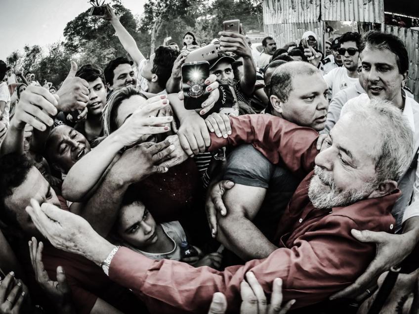 """Imagem de Lula: """"Montei uma quadrilha que tirou 36 milhões da miséria"""""""
