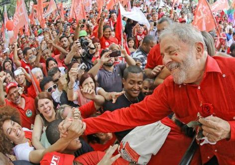 Imagem de Datafolha: Lula lidera intenção de voto para eleição presidencial para 2018