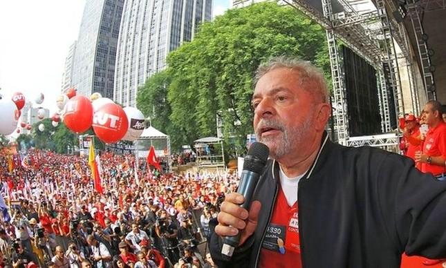 """Imagem de Lula: """"Reformas de Temer são bomba atômica na cabeça dos trabalhadores"""""""