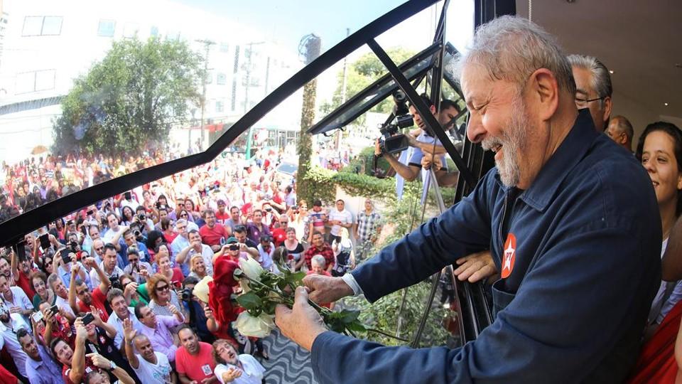 """Imagem de Lula: """"Espero Justiça para mim e para todos"""""""