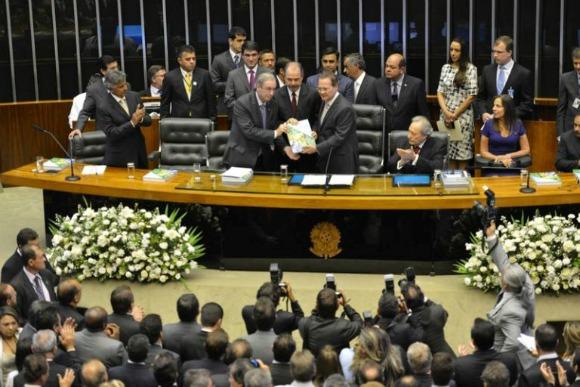 """Imagem de Dilma: """"Conto com apoio do Congresso para novo ciclo de mudanças no País"""""""
