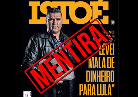 Imagem de Mau jornalismo: Revista publica nova mentira contra Lula