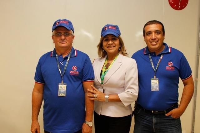 Imagem de Manaus: Aeroportuários reforçam marca do Sindicato junto à categoria