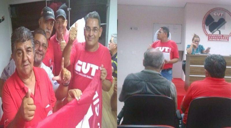 Imagem de Vale do Paraíba: Condutor eleito coordenador da subsede CUT na região
