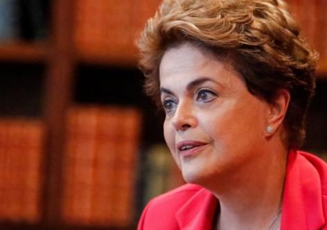 """Imagem de Dilma: """" O estado de exceção está convivendo com a democracia"""""""