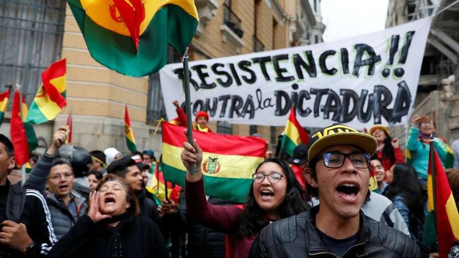 Imagem de FUTAC divulga nota de solidariedade a Evo Morales e ao povo boliviano