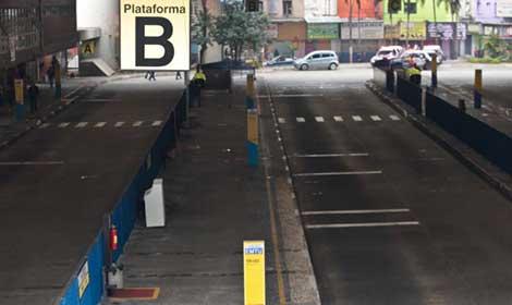Imagem de ABC: Garagens amanhacem vazias no Dia de Luta