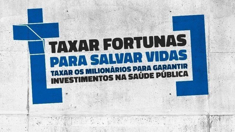 Imagem de Petição da Taxação das Grandes Fortunas chega a 152 mil: vamos aumentar esse número!