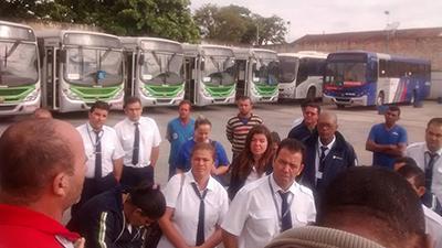 Imagem de Sorocaba: Após pagamento de 13º, rodoviários na Piracema  retornam ao trabalho