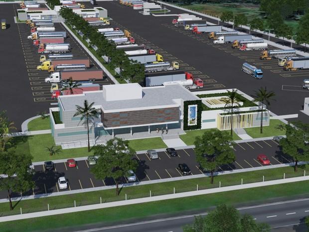 Imagem de Cargas: Governo apresenta projeto piloto de ponto de parada