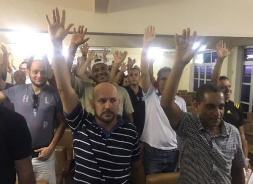 Imagem de Espírito Santo: Portuários vão participar da greve geral no dia 28