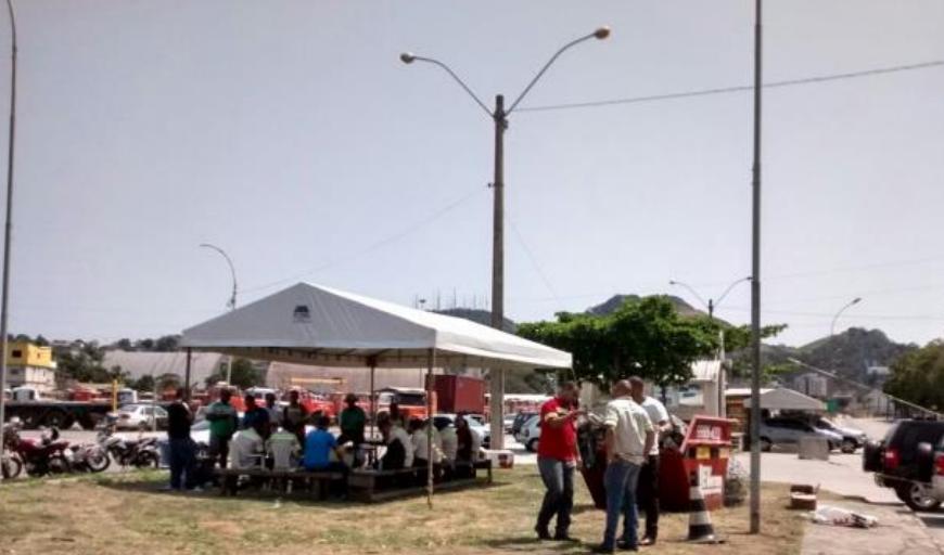 Imagem de Espírito Santo: Greve dos portuários no TVV tem adesão de 100% da categoria