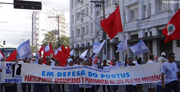 Imagem de Brasília: Portuários participam de reunião para estudar a reformulação do Portus