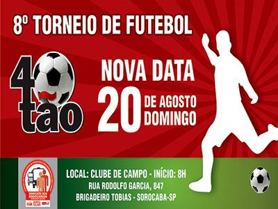 Imagem de Sorocaba: Sindicato realiza o 8º Torneio de Futebol Quarentão
