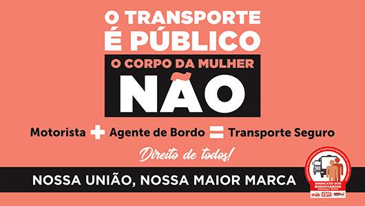 Imagem de Sorocaba: Sindicato dos Rodoviários promove campanha pelo fim da violência contra a mulher no transporte coletivo