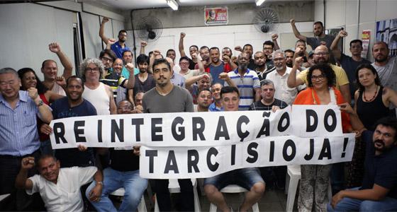 Imagem de SP: Metroviários aprovam plano de lutas pela reintegração de companheiro
