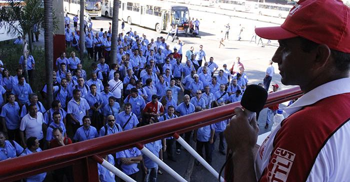 Imagem de 29 de maio: Rodoviários de Brasília confirmam participação no Dia de Luta