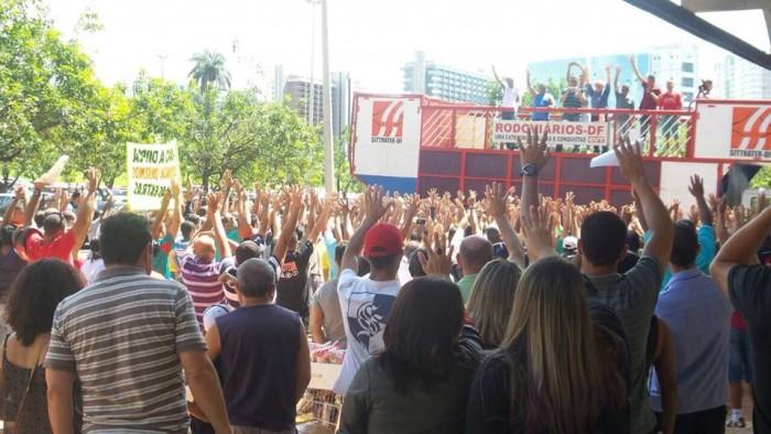 Imagem de Brasília: Rodoviários aprovam pauta da Campanha Salarial