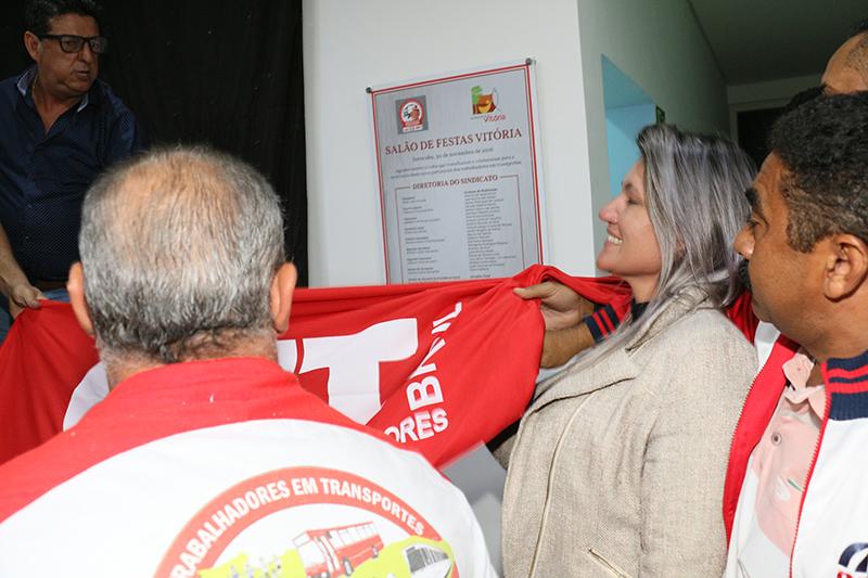 Imagem de Sorocaba: Rodoviários inauguram Salão de Festas para a categoria