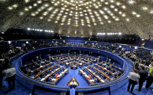 Imagem de Sindicalistas da CUT conversam com senadores para evitar aprovação de