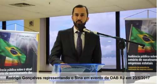 Imagem de Rio de Janeiro: Contra desmonte da Infraero, aeroportuários participam de audiência pública na OAB