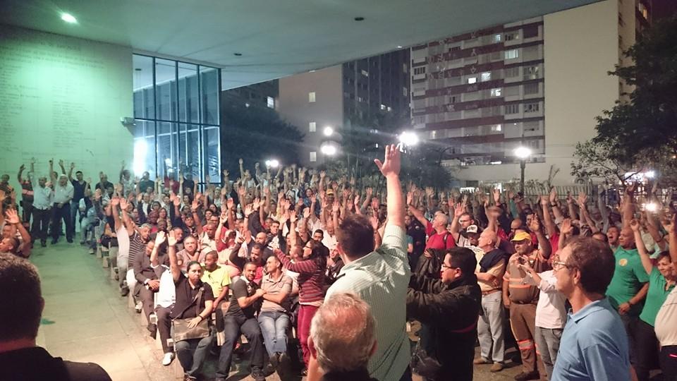 Imagem de SP: Sindviários realiza assembleia com agentes de trânsito na CET na quarta (24)