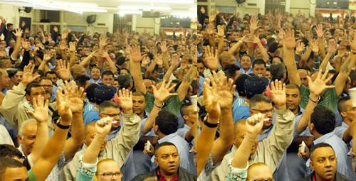 Imagem de ABC: Rodoviários aprovam participação na Greve Geral na sexta (28)